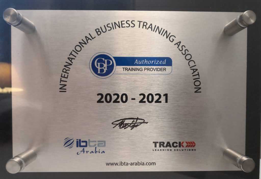 JFN Academy Authorized Training Provider for IBTA Arabia & Track Learning Solutions